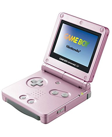 Nintendo Game Boy Advance SP Pearl Pink