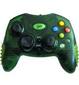 Xbox Controller Clear Green