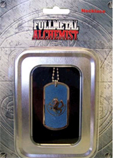 FullMetal Alchemist Blue State Military Dog Tag