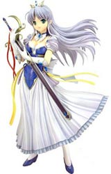 Yoake Mae Yori Ruri Iro Na (Crescent Love): Feena Fam Earthlight 1/6 Scale PVC Figure