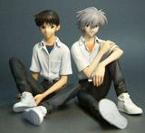 Neon Genesis Evangelion Shinji & Kaworu Statue