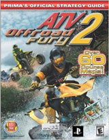 ATV Offroad Fury 2 Official Strategy Guide Book