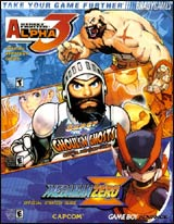 Street Fighter Alpha 3/Super Ghouls n Ghost/MegaMan Zero Official Strategy Guide Book