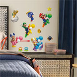 Super Mario Bros. Wii Wall Decals