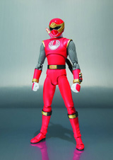 Power Ranger Ninja Storm: Red Wind Ranger S.H.Figuarts Action Figure