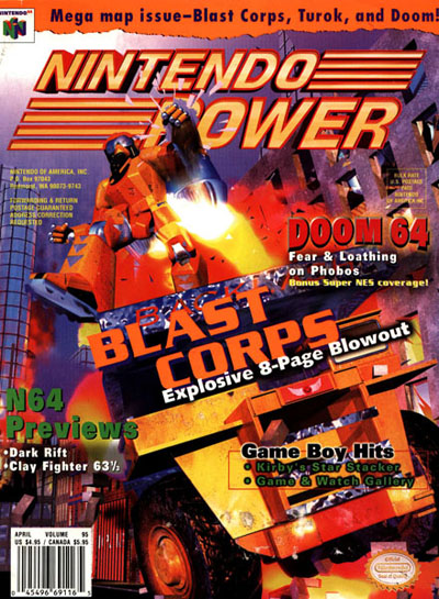Nintendo Power Volume 95 Blast Corps