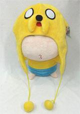 Adventure Time Jake Fleece Cap with Strings