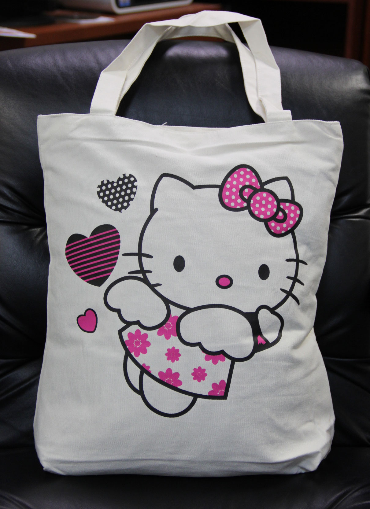 Hello Kitty Hearts Tote Bag