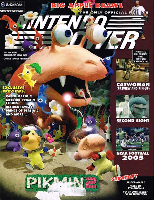 Buy Game Boy Advance Nintendo Power Volume 183 Pikmin 2