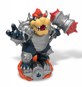amiibo Dark Bowser Skylanders Edition