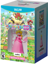 Mario Party 10 & Peach amiibo Bundle