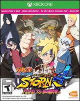 XB1 Naruto Shippuden Ultimate Ninja Storm 4: Road To Boruto boxart