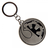 Star Wars Rogue One Split Imperial/Rebel Logo Keychain