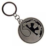 Star Wars Rogue One Split Imperial/Rebel Logo Keychain