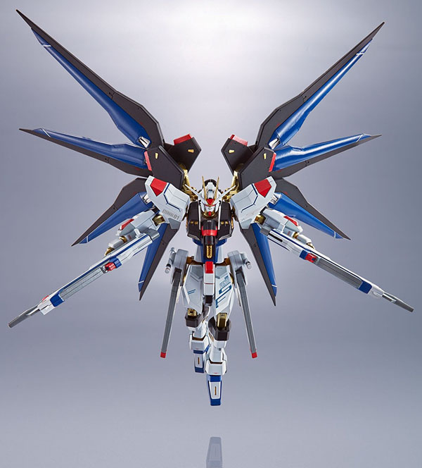 Gundam Destiny Seed Strike Freedom 1/144 Scale Model Kit in in stunning stike position