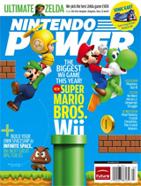 Nintendo Power Volume 248 New Super Mario Bros. Wii