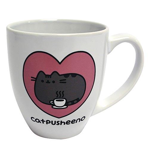 Pusheen Catpusheeno Heart Mug