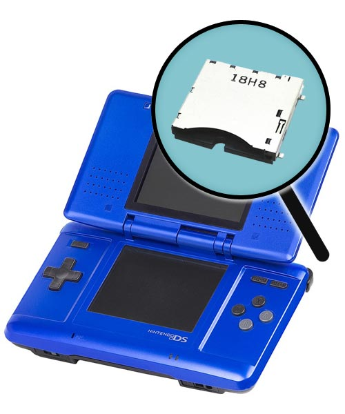 Nintendo DS Repairs: Cartridge Slot Replacement Service