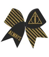 Harry Potter Glitter Cheer Bow