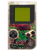 Nintendo Game Boy System High Tech Transparent - Refurbished