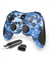 PlayStation 3 Wireless Controller Blue Camouflage by TTX