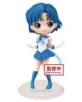 Sailor Moon Eternal Sailor Mercury Q-Posket Figure Dark Color