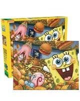 SpongeBob SquarePants Krabby Patties 500 Piece Jigsaw Puzzle