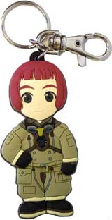 Last Exile: Lavi Head Key Chain