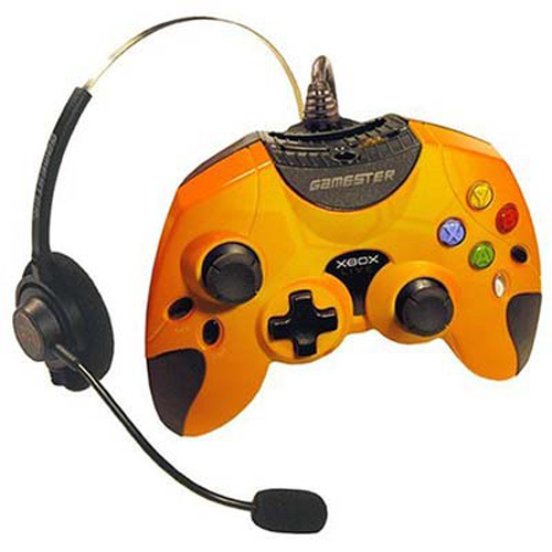 Xbox Phoenix Controller with Live Headset