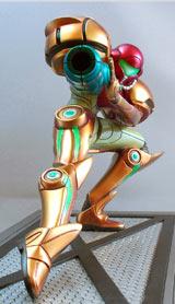 Metroid Prime: Samus Aran's Varia Suit Statue