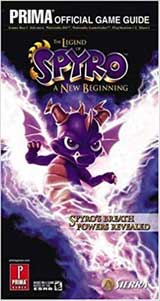 Legend of Spyro: A New Beginning Official Strategy Guide Book