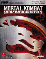 Mortal Kombat: Armageddon Official Strategy Guide by Prima