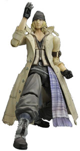 Final Fantasy XIII Play Arts Kai Snow Villiers Action Figure