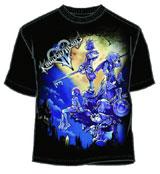 Kingdom Hearts Large Haven Black T-Shirt Large
