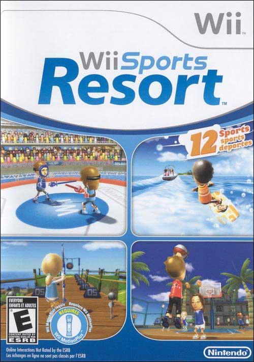 Wii Sports Resort Retail Version