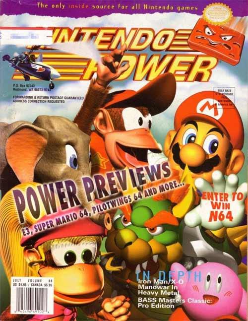 Nintendo Power Magazine Volume 86 Power Previews