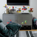 Mario Kart Wall Decals