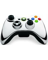 Xbox 360 Silver Chrome Wireless Controller