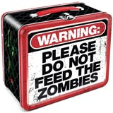 Zombie Warning Lunchbox