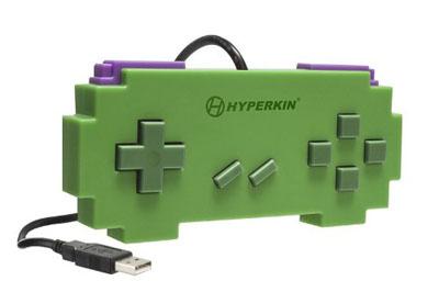 USB Pixel Art Controller Green (Hyperkin)