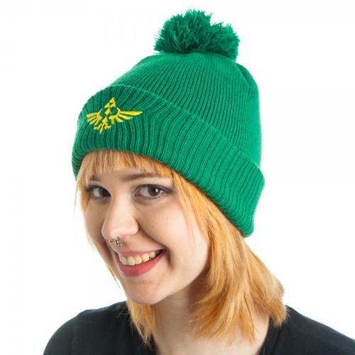 Nintendo Zelda Green Pom Beanie