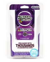 Wii Action Replay for Wii and GameCube