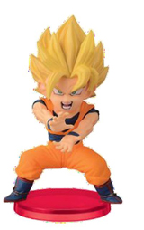 Dragon Ball Z WCF Battle Super Saiyan Goku 3 Inch Figure