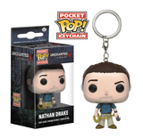 Pocket Pop Uncharted Nathan Drake Keychain