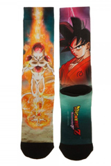 Dragon Ball Z Resurrection Poster Crew Socks