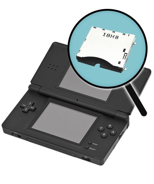 Nintendo DS Lite Repairs: Cartridge Slot Replacement Service
