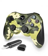 PlayStation 3 Wireless Controller Green Camouflage by TTX