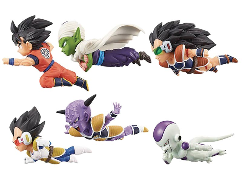 Dragon Ball Z World Collectible Mini Figures V1 BMB all items