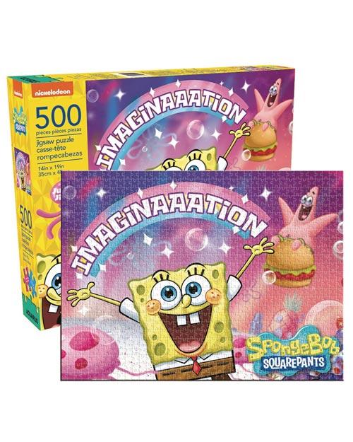 SpongeBob SquarePants Imagination 500 Piece Jigsaw Puzzle
