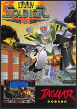 Iron Soldier II Jaguar CD
